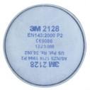 - 3M 2128 Organik Asit Gazı Filtresi Ped P2 0075 62